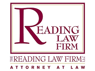 reading law firm logo